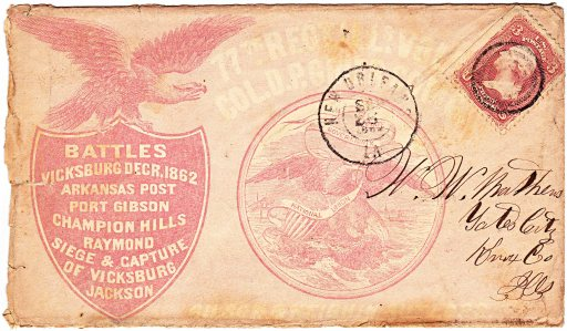 77th Regiment envelope