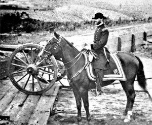 Maj. Gen. William T. Sherman during the Atlanta Campaign