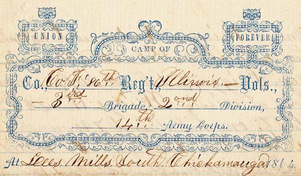 Chickamauga letterhead