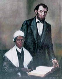 Abe Lincoln and Sojourner Truth