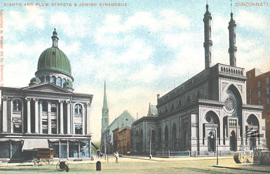 Plum Street and Synagogue,