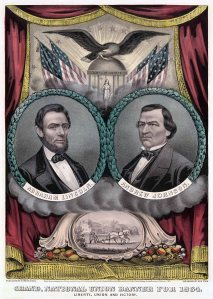 Presidential Election poster 1864