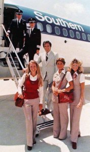 Southern Airways Charter Crew (Photo ca. mid-1970's)