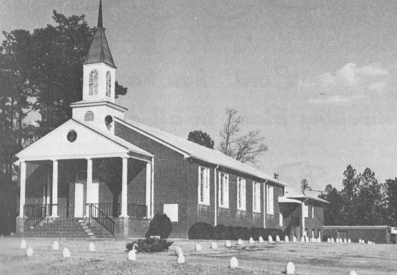 New Hope First Baptist Church in 1978