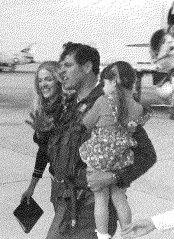 Lyman W. Keele, Jr. returns home from Vietnam