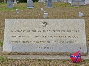 New Hope Tombstone