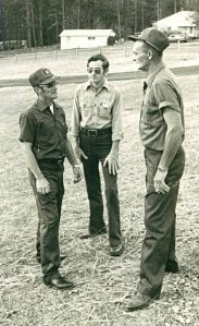 (L-R) John Clayton, Doyle Camp, and Johnny Wigley