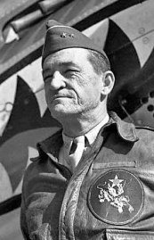 "Maj. Gen Claire Chennault, commander of the ""Flying Tigers"""