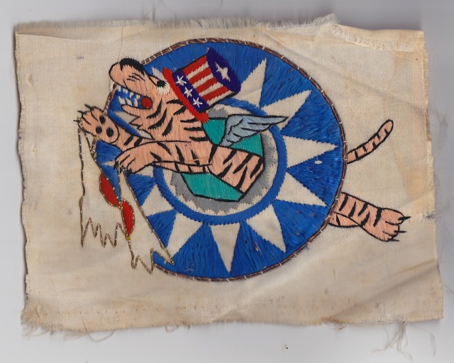 Lt. C. James Crysler's Flying Tiger insignia